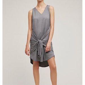 Anthropologie Dolan Tie-Front Dress Sz S EUC
